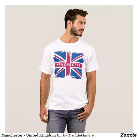 Manchester T-Shirt Design