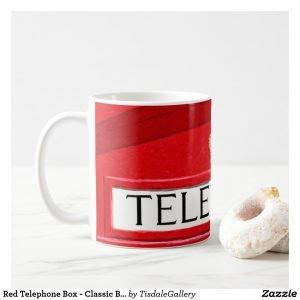 Red Telephone Box Coffee Mug