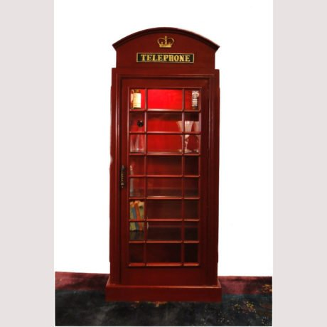 Large Lighted Display Cabinet