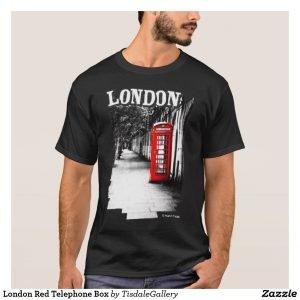 London Telephone Booth T-Shirt