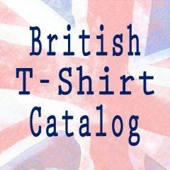 British T-Shirt Catalog