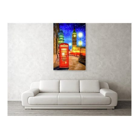 Room View of Canvas Print